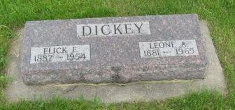 DICKEY, LEONE A. - Pocahontas County, Iowa   LEONE A. DICKEY