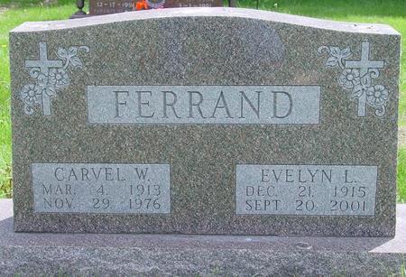 FERRAND, EVELYN - Pocahontas County, Iowa   EVELYN FERRAND