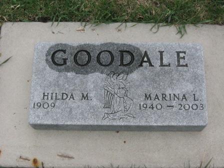 GOODALE, HILDA M. - Pocahontas County, Iowa | HILDA M. GOODALE
