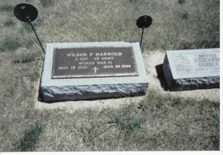 HARROLD, WILBUR F. - Pocahontas County, Iowa | WILBUR F. HARROLD