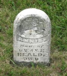 HEALD, ANNIE E. - Pocahontas County, Iowa | ANNIE E. HEALD