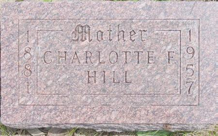HILL, CHARLOTTE - Pocahontas County, Iowa   CHARLOTTE HILL