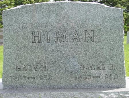 HIMAN, MARY - Pocahontas County, Iowa | MARY HIMAN