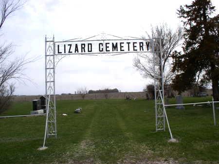 LIZARD, CEMETERY - Pocahontas County, Iowa   CEMETERY LIZARD