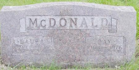 MCDONALD, LAURA - Pocahontas County, Iowa   LAURA MCDONALD