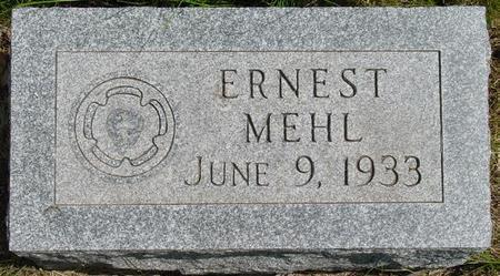MEHL, ERNEST - Pocahontas County, Iowa | ERNEST MEHL
