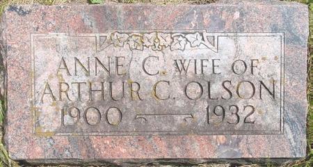 OLSON, ANNE - Pocahontas County, Iowa   ANNE OLSON