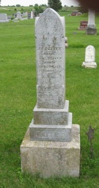 PATTEE, J.F. - Pocahontas County, Iowa   J.F. PATTEE