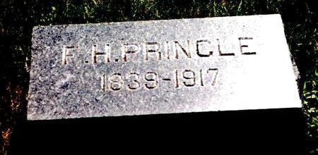 PRINGLE, FRANCIS - Pocahontas County, Iowa   FRANCIS PRINGLE