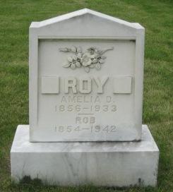 ROY, AMELIA D. - Pocahontas County, Iowa   AMELIA D. ROY