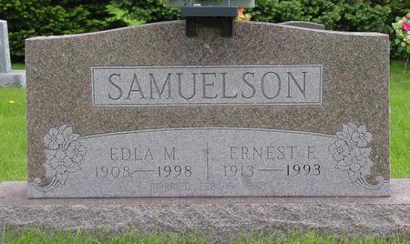 SAMUELSON, EDLA - Pocahontas County, Iowa | EDLA SAMUELSON