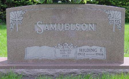 SAMUELSON, HILDING - Pocahontas County, Iowa | HILDING SAMUELSON