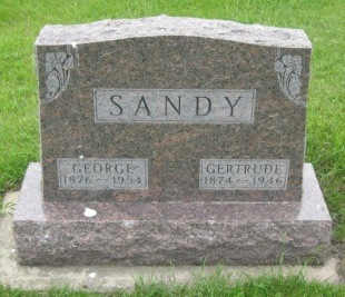 SANDY, GERTRUDE - Pocahontas County, Iowa | GERTRUDE SANDY