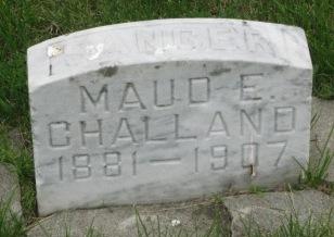 SANGER, MAUDE E. - Pocahontas County, Iowa   MAUDE E. SANGER
