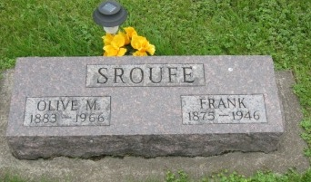 SROUFE, FRANK - Pocahontas County, Iowa | FRANK SROUFE