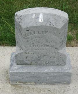 THOMAS, NELLIE A - Pocahontas County, Iowa | NELLIE A THOMAS