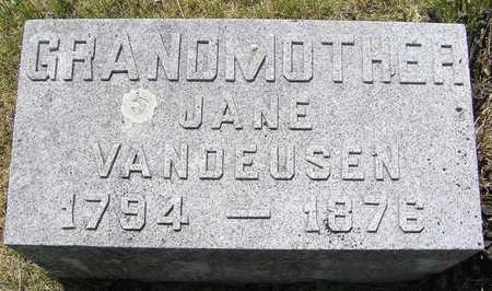 VANDEUSEN, JANE - Pocahontas County, Iowa | JANE VANDEUSEN