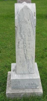 WILLIAMS, JOHN C. - Pocahontas County, Iowa   JOHN C. WILLIAMS