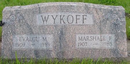 WYKOFF, EVALOU - Pocahontas County, Iowa | EVALOU WYKOFF