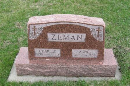 ZEMAN, CHARLES - Pocahontas County, Iowa | CHARLES ZEMAN