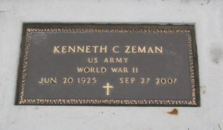 ZEMAN, KENNETH C. - Pocahontas County, Iowa | KENNETH C. ZEMAN