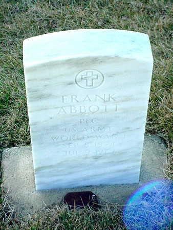 ABBOTT, FRANK - Polk County, Iowa | FRANK ABBOTT