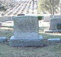 ABBOTT, HEAD STONE - Polk County, Iowa   HEAD STONE ABBOTT