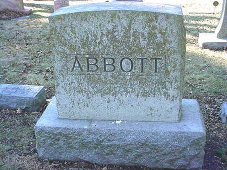 ABBOTT, MAIN STONE - Polk County, Iowa | MAIN STONE ABBOTT