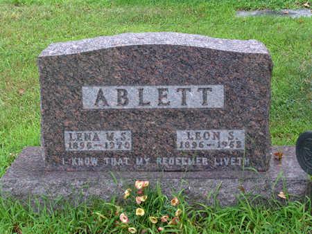 ABLETT, LENA  M.  S. - Polk County, Iowa | LENA  M.  S. ABLETT