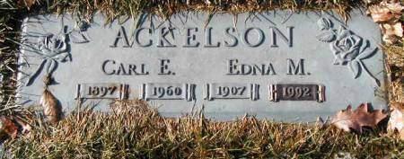 ACKELSON, EDNA M. - Polk County, Iowa   EDNA M. ACKELSON