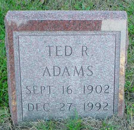ADAMS, TED R. - Polk County, Iowa   TED R. ADAMS