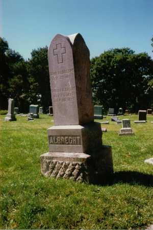 ALBRECHT, THRESIA - Polk County, Iowa | THRESIA ALBRECHT