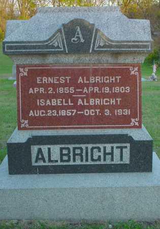 ALBRIGHT, ERNEST - Polk County, Iowa | ERNEST ALBRIGHT