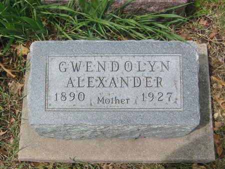 ALEXANDER, GWENDOLYN - Polk County, Iowa | GWENDOLYN ALEXANDER