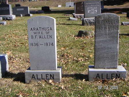 ALLEN, ARATHUSA - Polk County, Iowa | ARATHUSA ALLEN