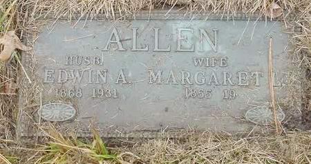 ALLEN, EDWIN A. - Polk County, Iowa | EDWIN A. ALLEN