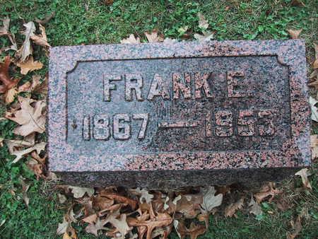 ALLEN, FRANK E. - Polk County, Iowa | FRANK E. ALLEN