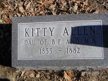ALLEN, KITTY - Polk County, Iowa | KITTY ALLEN