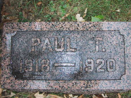 ALLEN, PAUL T. - Polk County, Iowa | PAUL T. ALLEN