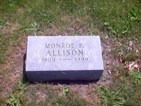 ALLISON, MONROE P. - Polk County, Iowa | MONROE P. ALLISON