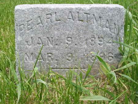 ALTMAN, PEARL - Polk County, Iowa | PEARL ALTMAN