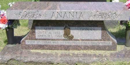 ANANIA, DONNA - Polk County, Iowa | DONNA ANANIA