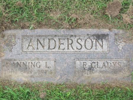 ANDERSON, F.  GLADYS - Polk County, Iowa | F.  GLADYS ANDERSON