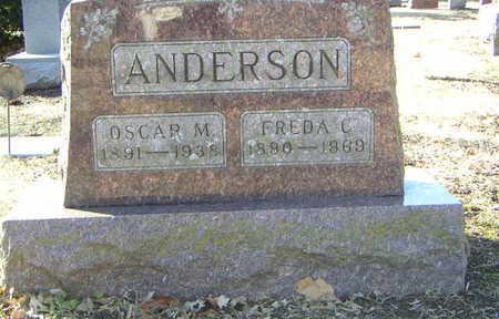 ANDERSON, OSCAR M. - Polk County, Iowa | OSCAR M. ANDERSON
