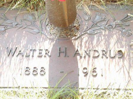ANDRUS, WALTER H. - Polk County, Iowa | WALTER H. ANDRUS