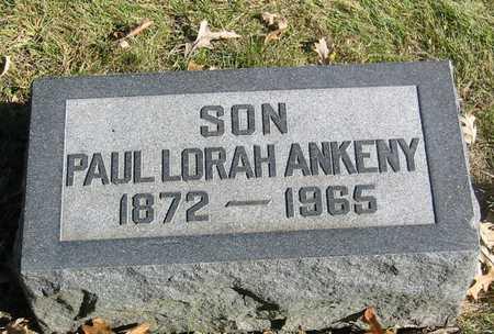 ANKENY, PAUL LORAH - Polk County, Iowa | PAUL LORAH ANKENY