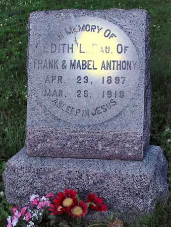 ANTHONY, EDITH L. - Polk County, Iowa | EDITH L. ANTHONY