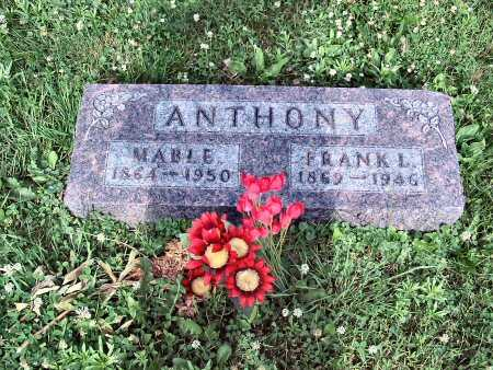 ANTHONY, MABLE - Polk County, Iowa | MABLE ANTHONY