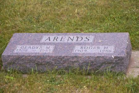 ARENDS, ROGER H. & GLADYS M. - Polk County, Iowa | ROGER H. & GLADYS M. ARENDS