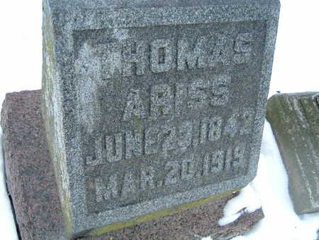 ARISS, THOMAS - Polk County, Iowa | THOMAS ARISS
